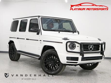 2019_Mercedes-Benz_G550_AMG Line 12.3 Widescreen Designo Leather Pkg Exclusive Pkg Night Pkg Best Color Combo Loaded_ Hickory Hills IL