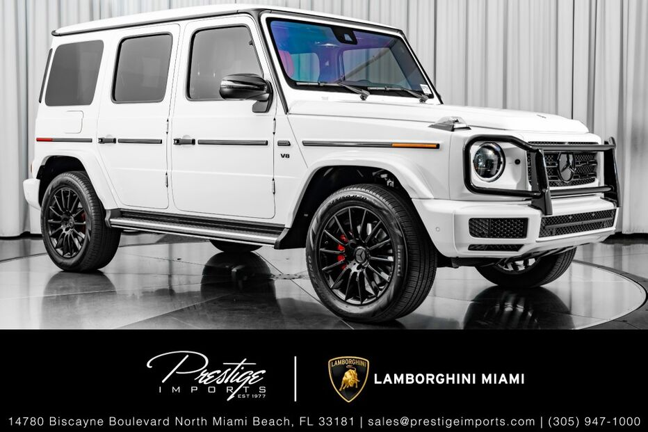 2019_Mercedes-Benz_G550_G 550_ North Miami Beach FL