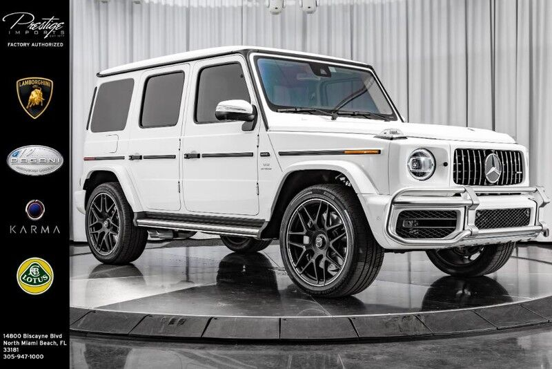 2019_Mercedes-Benz_G63_AMG_ North Miami Beach FL