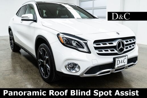 2019 Mercedes-Benz GLA GLA 250 4MATIC Panoramic Roof Blind Spot Assist Portland OR