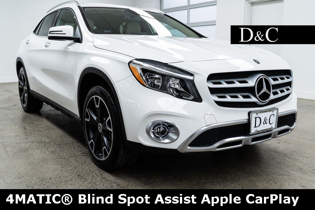 2019 Mercedes-Benz GLA GLA 250 4MATIC® Blind Spot Assist Apple CarPlay Portland OR