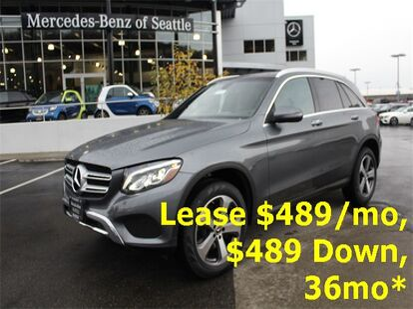 2019_Mercedes-Benz_GLC_300 4MATIC® SUV_ Seattle WA