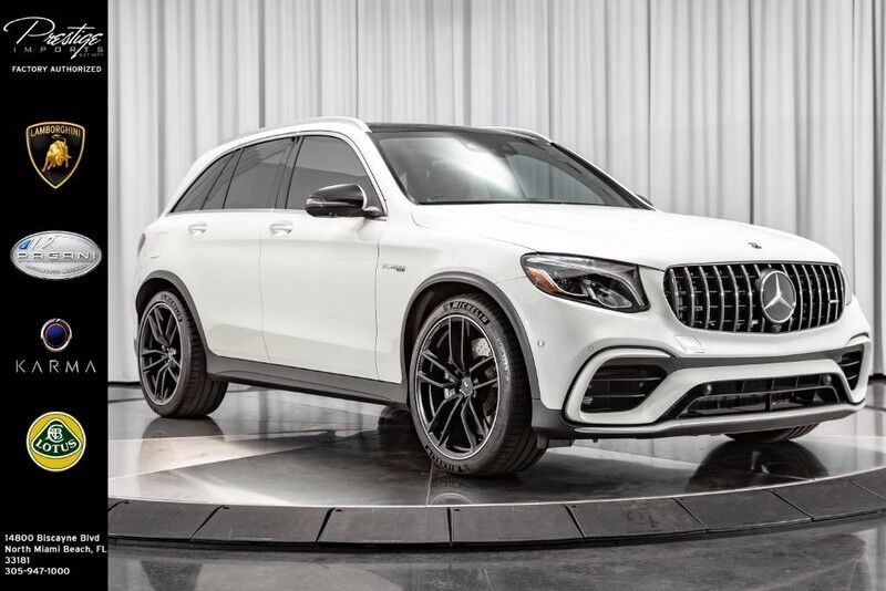 2019 Mercedes-Benz GLC AMG GLC 63 North Miami Beach FL