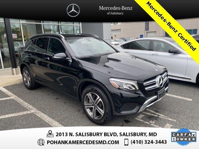 2019 Mercedes-Benz GLC GLC 300 4MATIC® Mercedes-Benz Certified Pre-Owned Salisbury MD