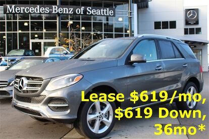 2019_Mercedes-Benz_GLE_400 4MATIC® SUV_ Seattle WA