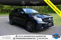 2019 Mercedes-Benz GLE GLE 43 AMG® 4MATIC®** Mercedes-Benz Certified **