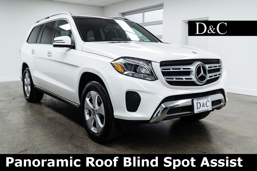 2019 Mercedes-Benz GLS GLS 450 4MATIC Panoramic Roof Blind Spot Assist Portland OR