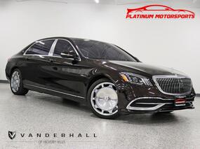 Mercedes-Benz Maybach S 560 4Matic 2 Owner Pano HUD Rear TV's Only 7K Miles Executive Rear Seat Pkg Plus 20 Maybach Forged Wheels Fully Loaded 2019