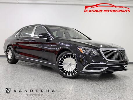 2019_Mercedes-Benz_Maybach S 650_1 Owner V12 Executive Four Place seating TV's Black Wood Maybach forged wheels Over $200k New Fully Loaded_ Hickory Hills IL