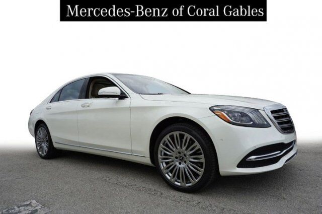 2019 Mercedes-Benz S 450 Long wheelbase Coral Gables FL