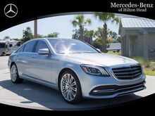 2019_Mercedes-Benz_S_450 Long wheelbase 4MATIC®_ Bluffton SC