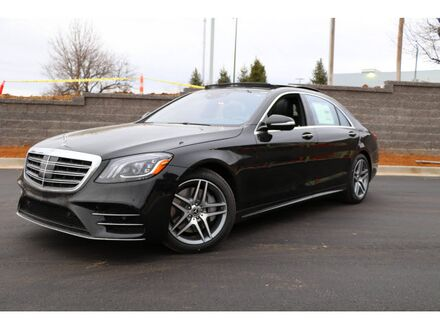 2019_Mercedes-Benz_S_450 Long wheelbase4MATIC®_ Merriam KS