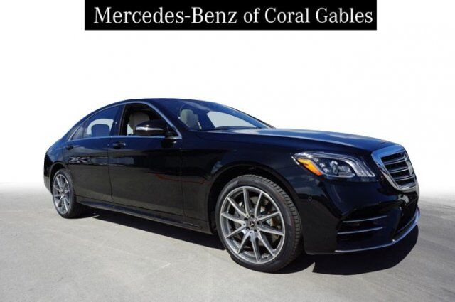 2019 Mercedes-Benz S 560 Sedan Coral Gables FL