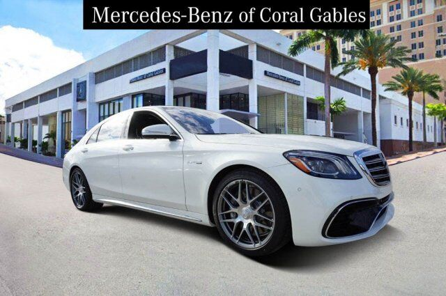 2019 Mercedes-Benz S AMG® 63  4MATIC® Cutler Bay FL