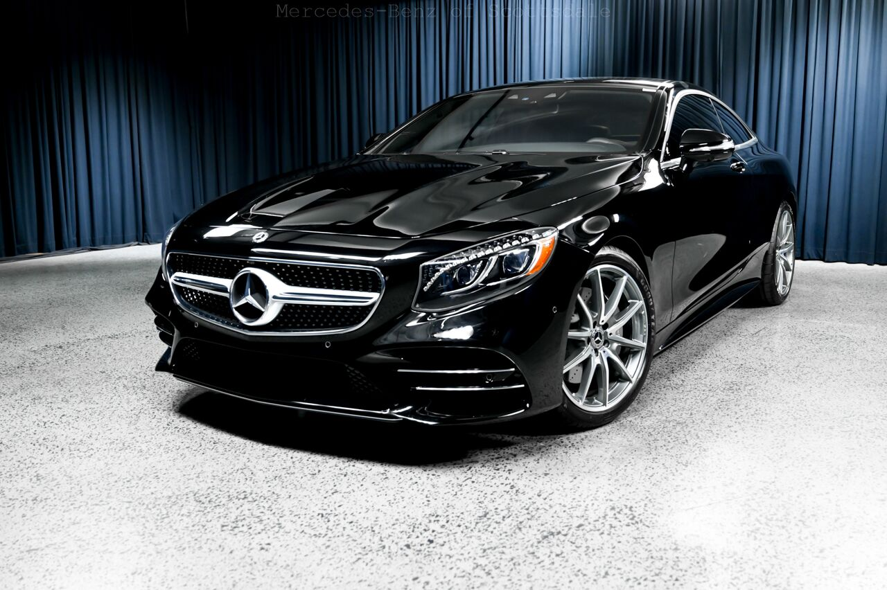 Mercedes Benz Of Scottsdale >> 2019 Mercedes Benz S Class 560 4matic Coupe