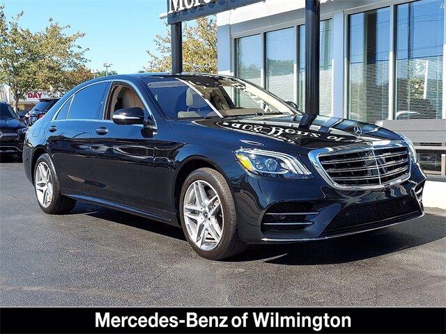 2019 Mercedes-Benz S-Class S 560 4MATIC® Sedan Wilmington DE
