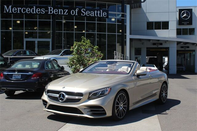 2019 Mercedes-Benz S-Class S 560 Cabriolet Seattle WA