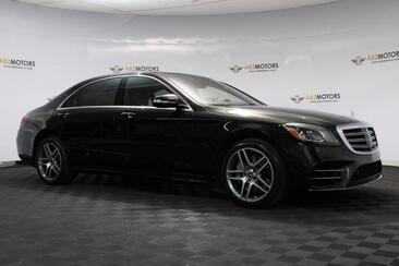 2019_Mercedes-Benz_S-Class_S 560 Pano,Nav,360 Cam,Premium 1 Pkg,AMG Line_ Houston TX