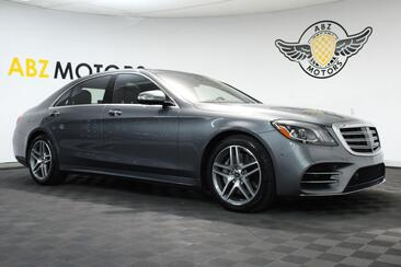 2019_Mercedes-Benz_S-Class_S 560 Sport Amg Rear Seat Pkg Designo Seats_ Houston TX