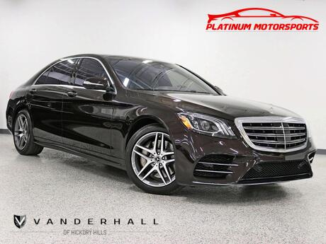 2019 Mercedes-Benz S560 4Matic Sport Pkg Pano Nav Back Up Camera Wooden Steering Wheel Loaded Hickory Hills IL