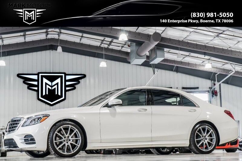2019_Mercedes-Benz_S560_NAPPA LEATHER - PREMIUM 1 PACK_ Boerne TX
