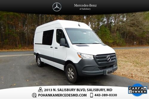 2019_Mercedes-Benz_Sprinter 2500_Crew 144 WB High Roof_ Salisbury MD