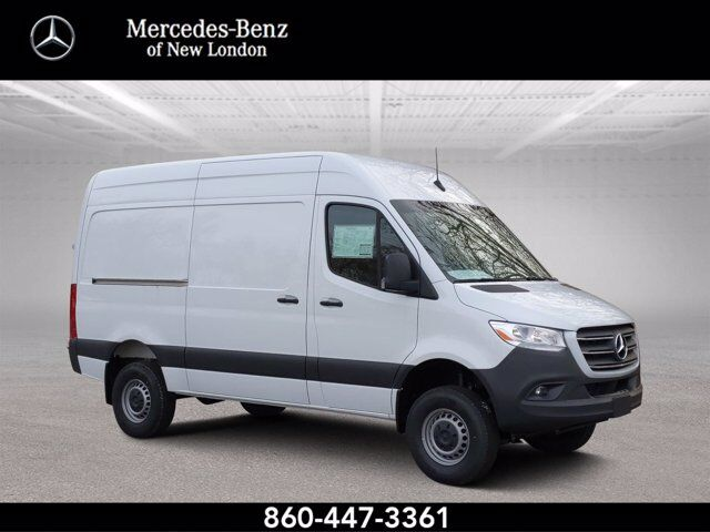"2019 Mercedes-Benz Sprinter Cargo Van 2500 High Roof V6 144"" 4WD New London CT"