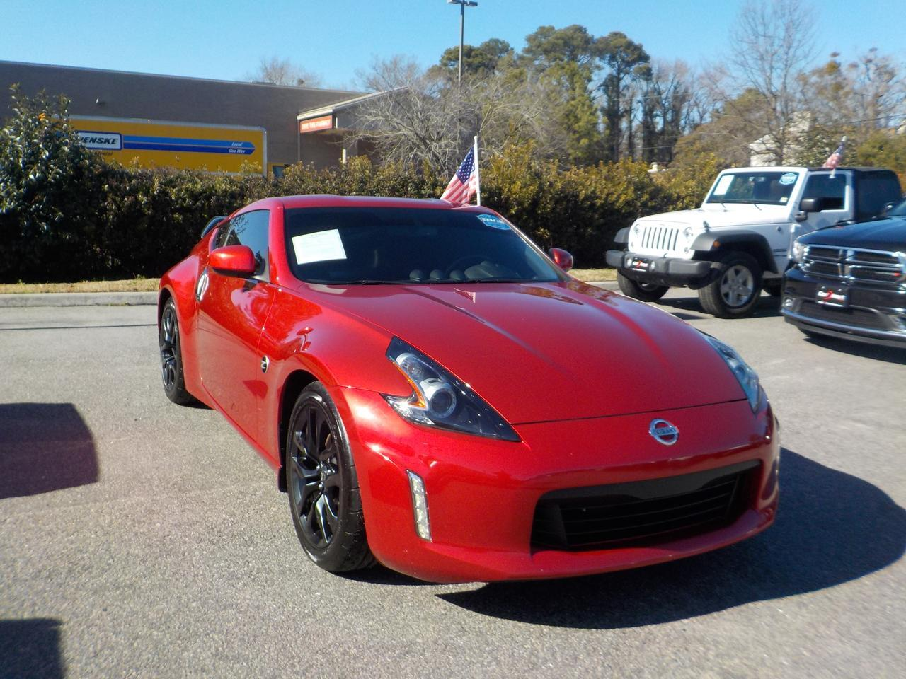 2019 NISSAN 370Z MANUAL 6 SPEED RWD, BLUETOOTH WIRELESS, VERY CLEAN, WELL MAINTAINED, REAR SPOILER, BACKUP CAMERA! Virginia Beach VA