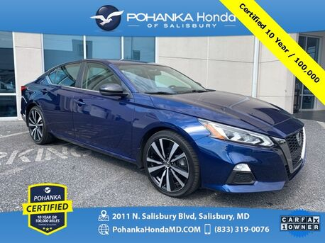 2019_Nissan_Altima_2.5 SR ** Pohanka Certified 10 Year / 100,000 **_ Salisbury MD
