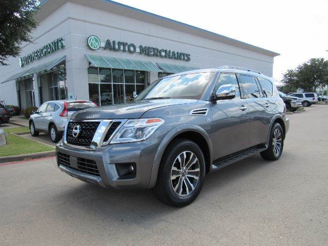 2019 Nissan Armada SL AWD *PREMIUM PKG* LEATHER, SUNROOF, NAVIGATION, ADAPTIVE CRUISE, UNDER FACTORY WARRANTY Plano TX