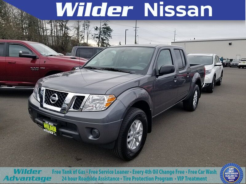 2019 Nissan Frontier 4WD Crew Cab SV Auto