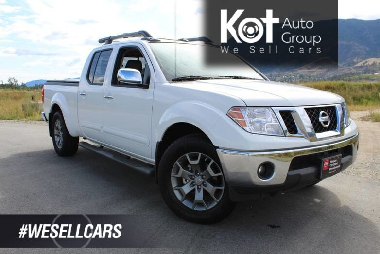2019 Nissan Frontier Crew Cab SL Long Bed 4x4 , One Owner, Fully Loaded Kelowna BC