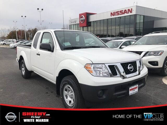 2019 Nissan Frontier S King Cab White Marsh MD
