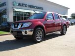 2019 Nissan Frontier SL Crew Cab 5AT 4WD LEATHER, SUNROOF, NAVIGATION, BACKUP AMERA, PARKING SENSORS, HTD SEATS
