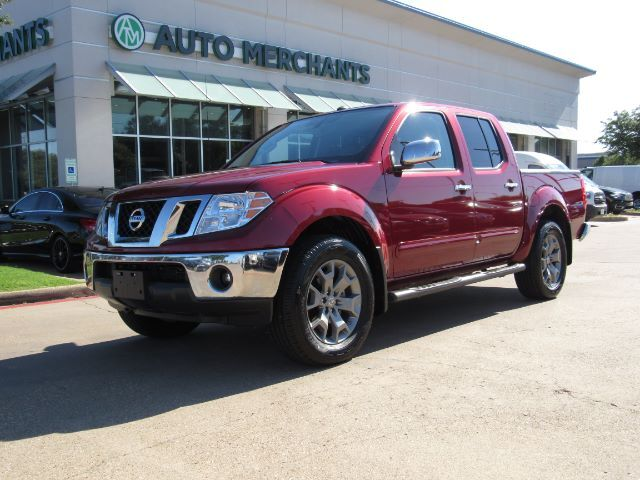 2019 Nissan Frontier SL Crew Cab 5AT 4WD LEATHER, SUNROOF, NAVIGATION, BACKUP AMERA, PARKING SENSORS, HTD SEATS Plano TX