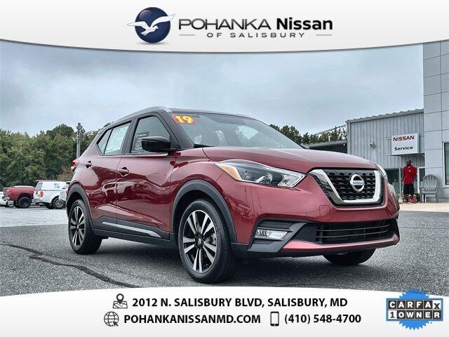 2019 Nissan Kicks SR Nissan Certified Pre-Owned Salisbury MD