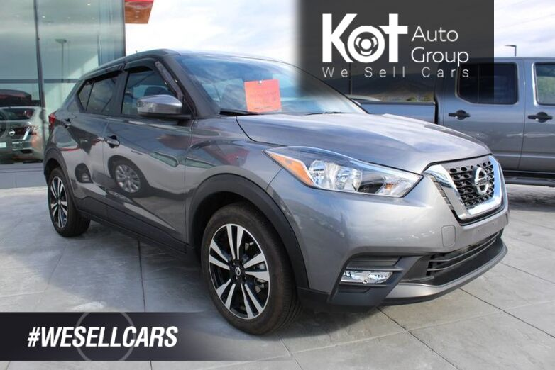 2019 Nissan Kicks SV Includes Tint and Side Visors - DEMO BLOWOUT Kelowna BC