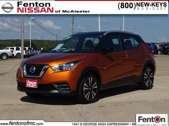 2019_Nissan_Kicks_SV_ McAlester OK