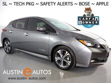 Nissan LEAF SL (40 kWh Battery) *NAVIGATION, BLIND SPOT ALERT, COLLISION/PEDESTRIAN ALERT, ADAPTIVE CRUISE, SURROUND VIEW MONITOR, LEATHER, HEATED SEATS, BOSE AUDIO, APPLE CARPLAY 2019