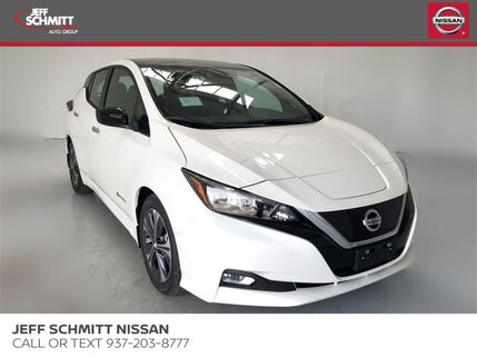 2019_Nissan_Leaf_SV_ Beavercreek OH