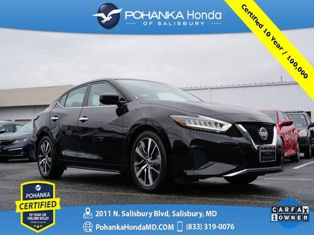 2019_Nissan_Maxima_3.5 S ** Pohanka Certified 10 Year / 100,000  **_ Salisbury MD