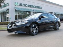 2019_Nissan_Maxima_3.5 SV LEATHER, NAVIGATION, HTD FRONT STS, BLIND SPOT, BLUETOOTH, UNDER FACTORY WARRANTY_ Plano TX