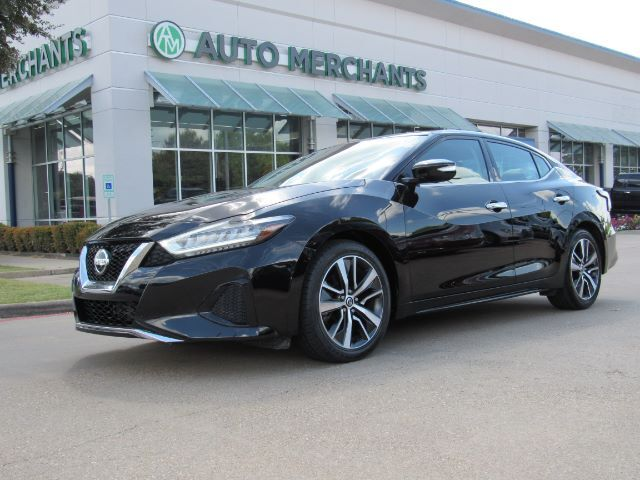 2019 Nissan Maxima 3.5 SV LEATHER, NAVIGATION, HTD FRONT STS, BLIND SPOT, BLUETOOTH, UNDER FACTORY WARRANTY Plano TX