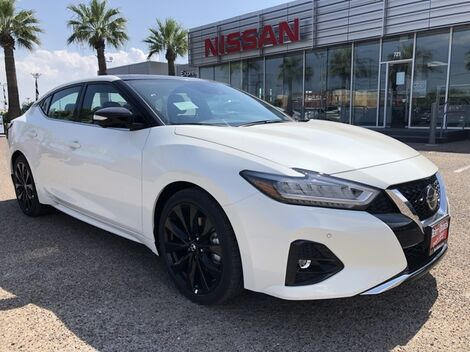2019_Nissan_Maxima_SR_ McAllen TX