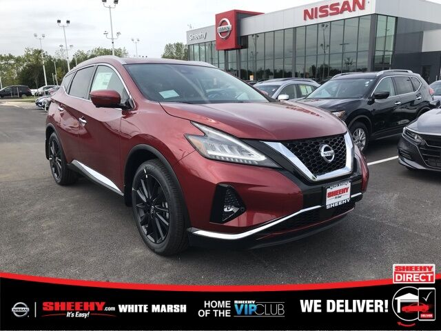 2019 Nissan Murano Platinum White Marsh MD