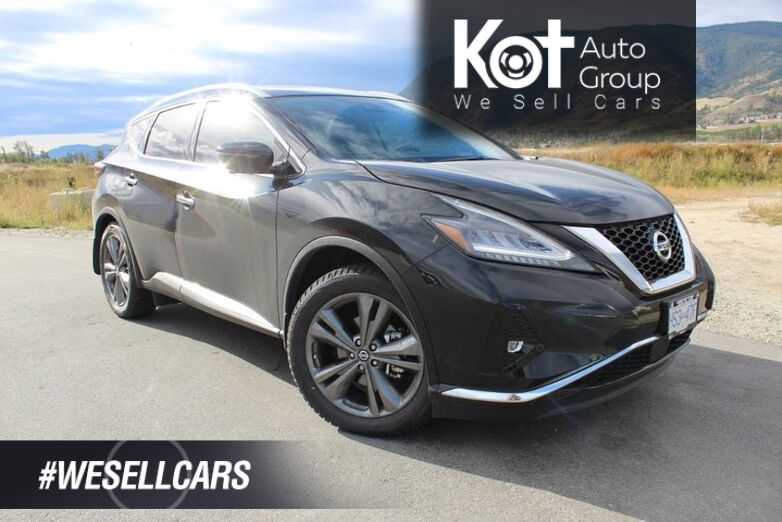 2019 Nissan Murano Platinum Includes Winter Tires - DEMO BLOWOUT Kelowna BC