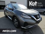 2019 Nissan Murano SV, Heated Seats & Steering Wheel, Sunroof, Navigation, Back-Up