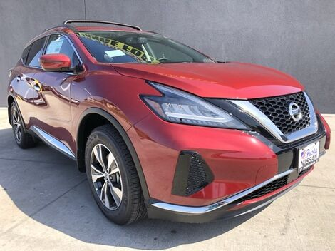 2019_Nissan_Murano_SV_ McAllen TX