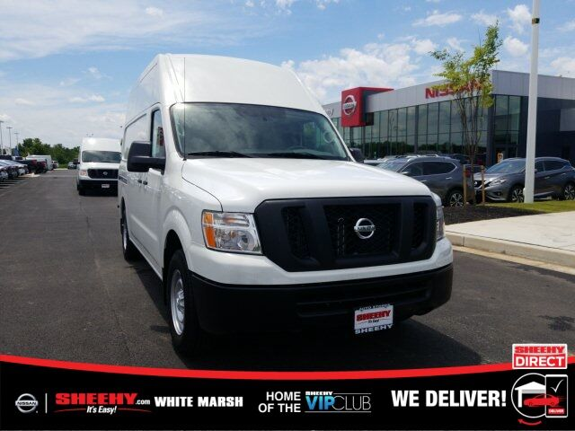 2019 Nissan NV2500 HD S White Marsh MD