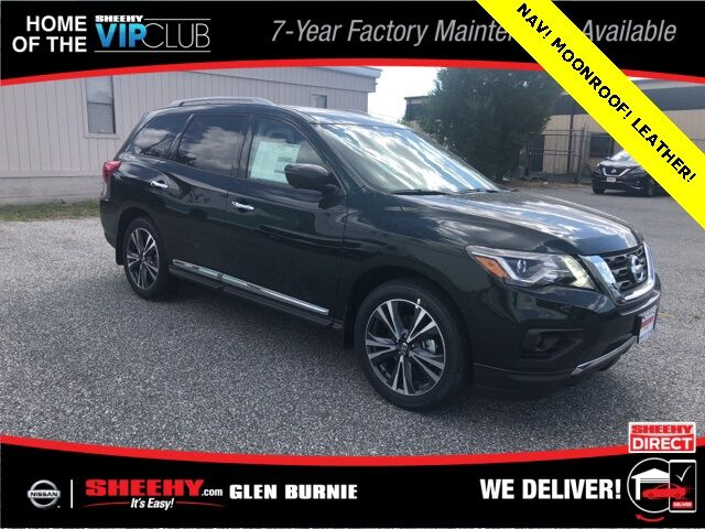 2019 Nissan Pathfinder Platinum Glen Burnie MD